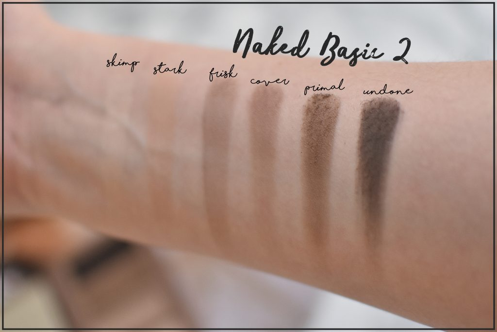 Naked Basics 2 Swatch